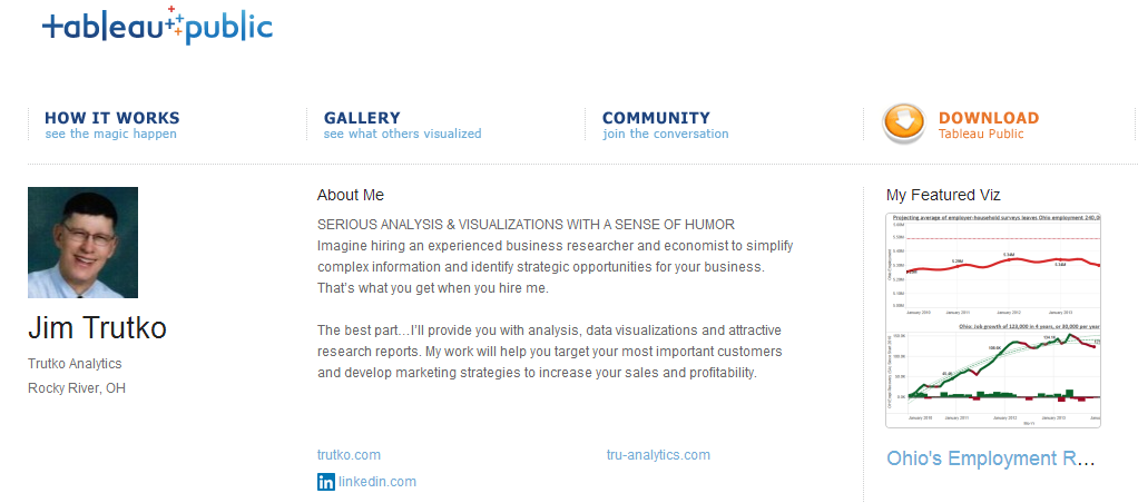 2014-03 Tableau Screenshot for Linkedin